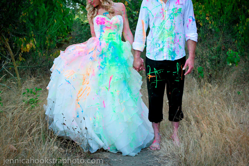 Paint Colour Dresses