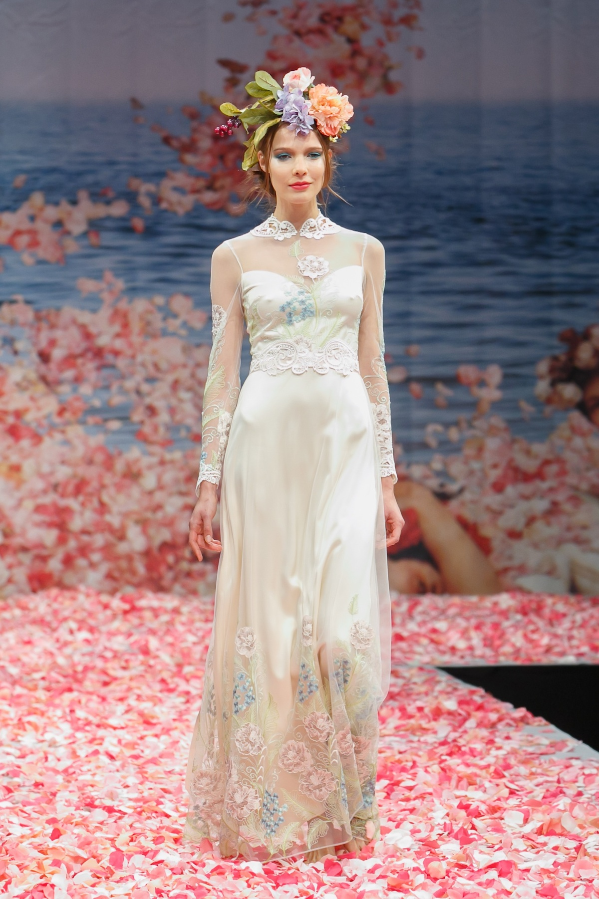 2013 wedding dress by claire pettibone an earthly paradise for Wedding dress claire pettibone