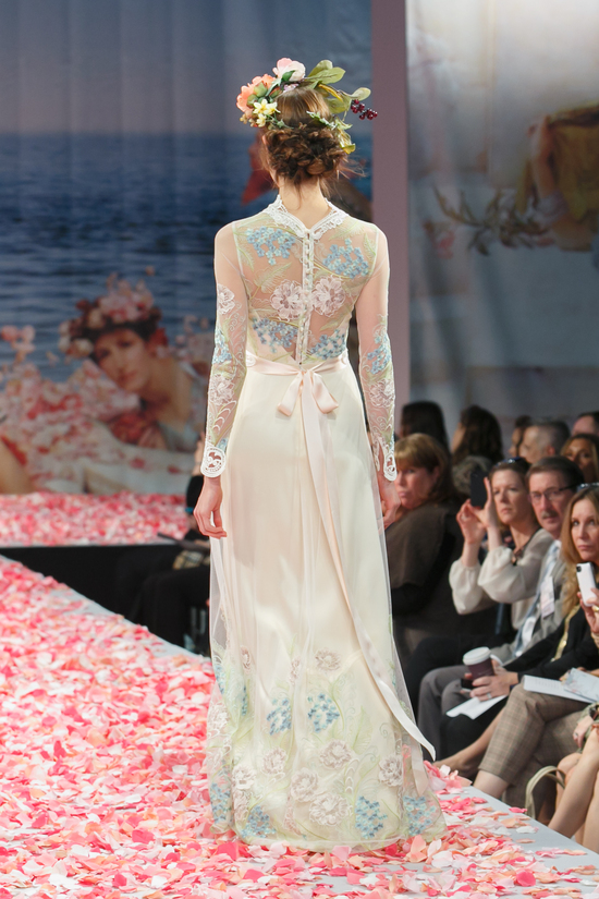 2013 wedding dress by Claire Pettibone An Earthly Paradise bridal collection Diana b