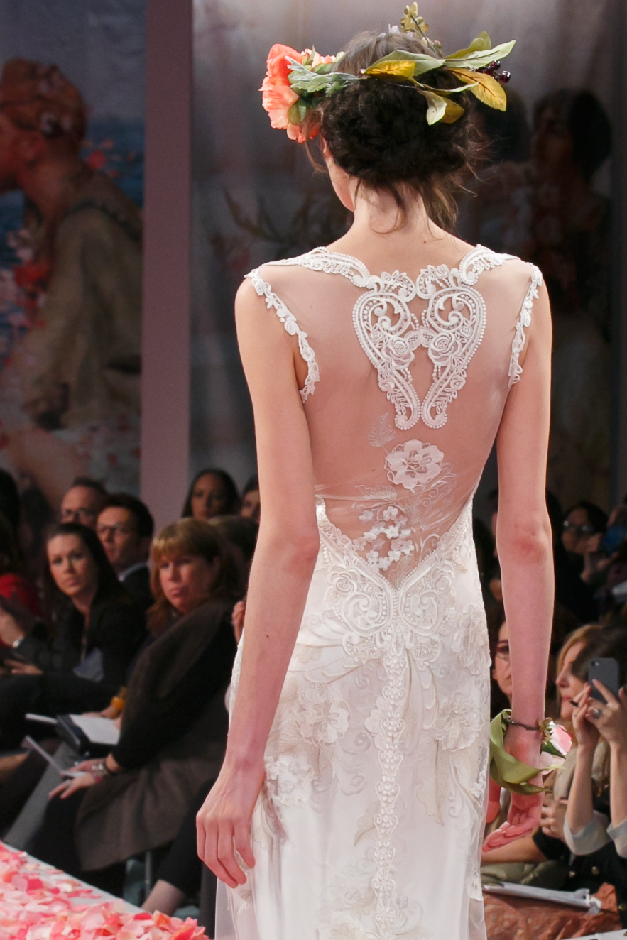 2013 wedding dress by Claire Pettibone An Earthly Paradise bridal collection Alma