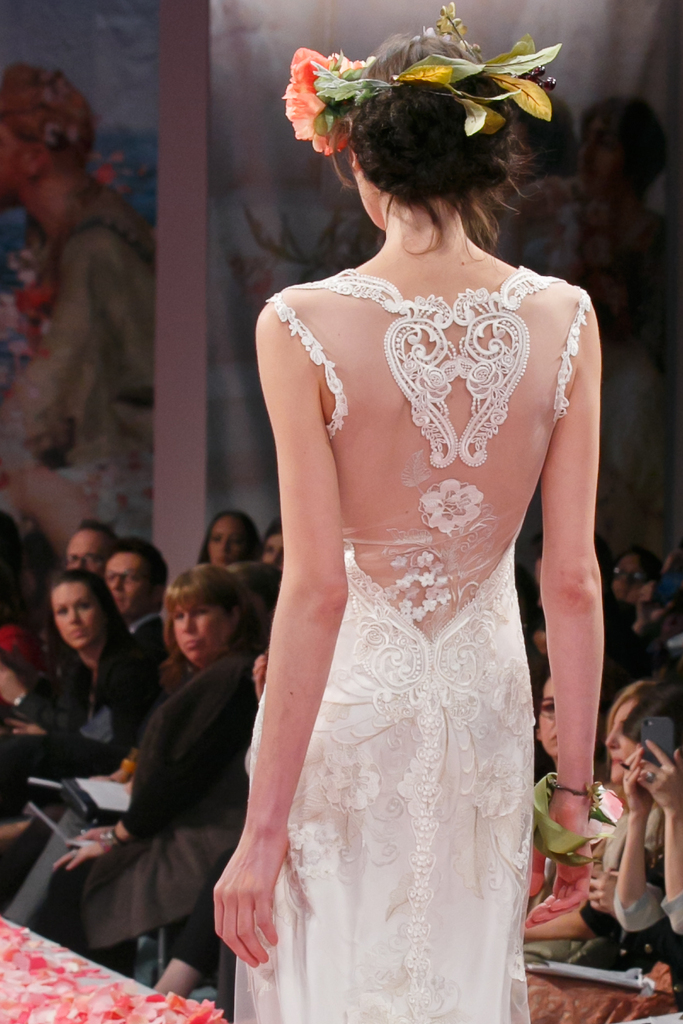 photo of 2013 wedding dress by Claire Pettibone An Earthly Paradise bridal collection Alma