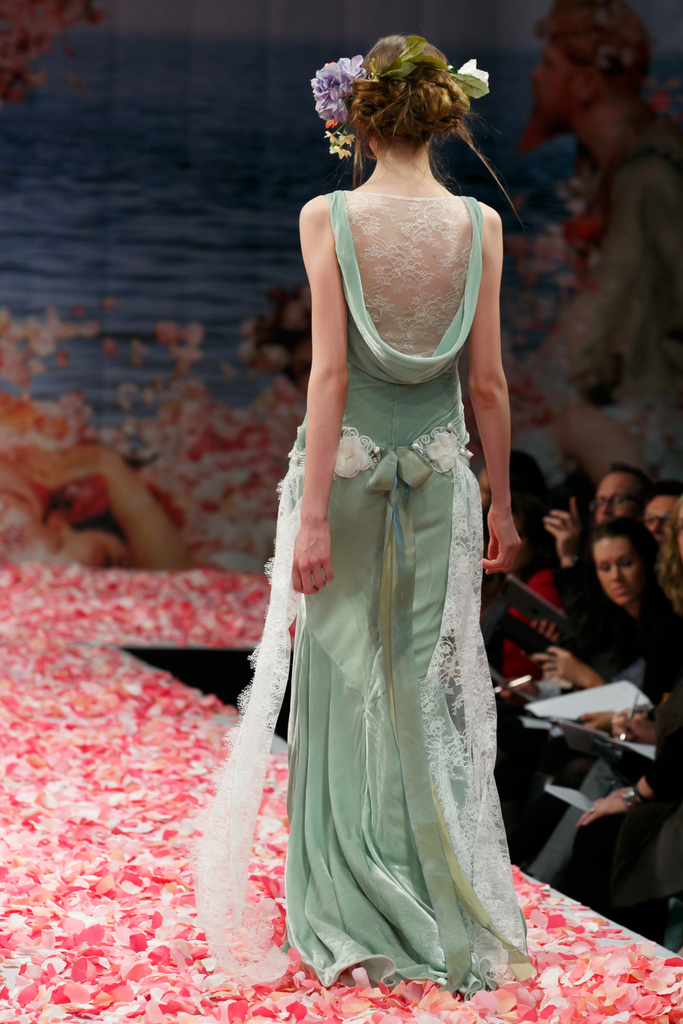 photo of 2013 wedding dress by Claire Pettibone An Earthly Paradise bridal collection Venus