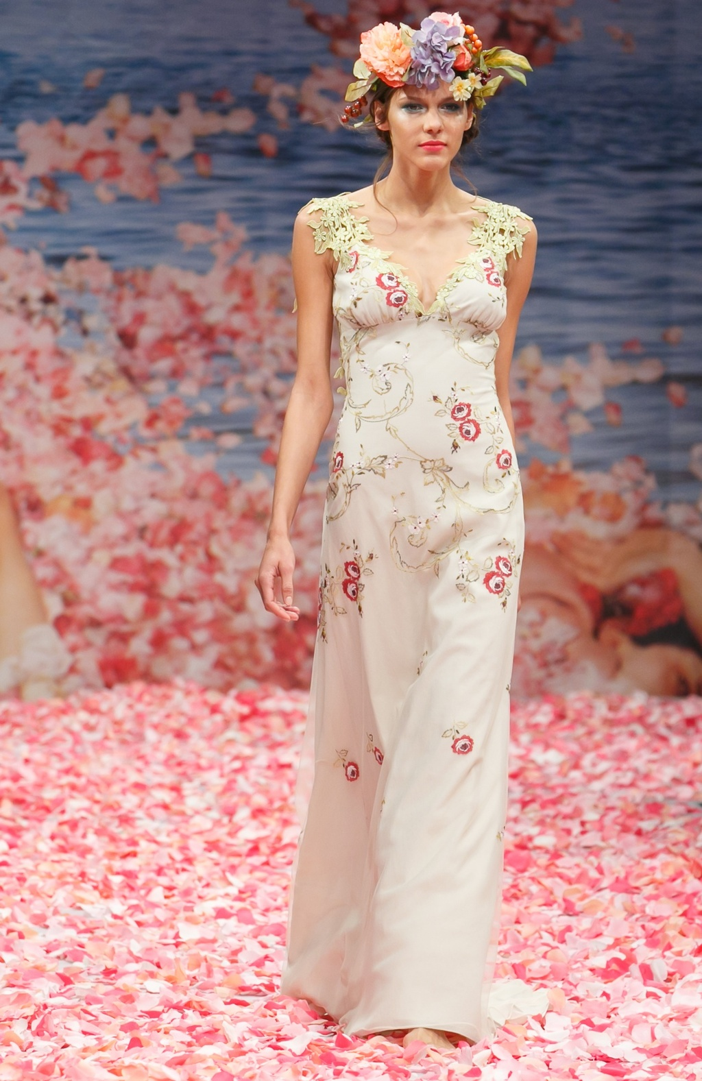 Claire Pettibone\'s New Wedding Dress Collection Is Paradise On Earth ...