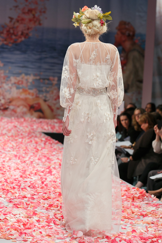 2013 wedding dress by Claire Pettibone An Earthly Paradise bridal collection Peace