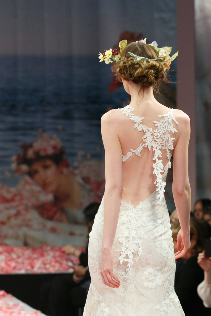photo of 2013 wedding dress by Claire Pettibone An Earthly Paradise bridal collection Devotion