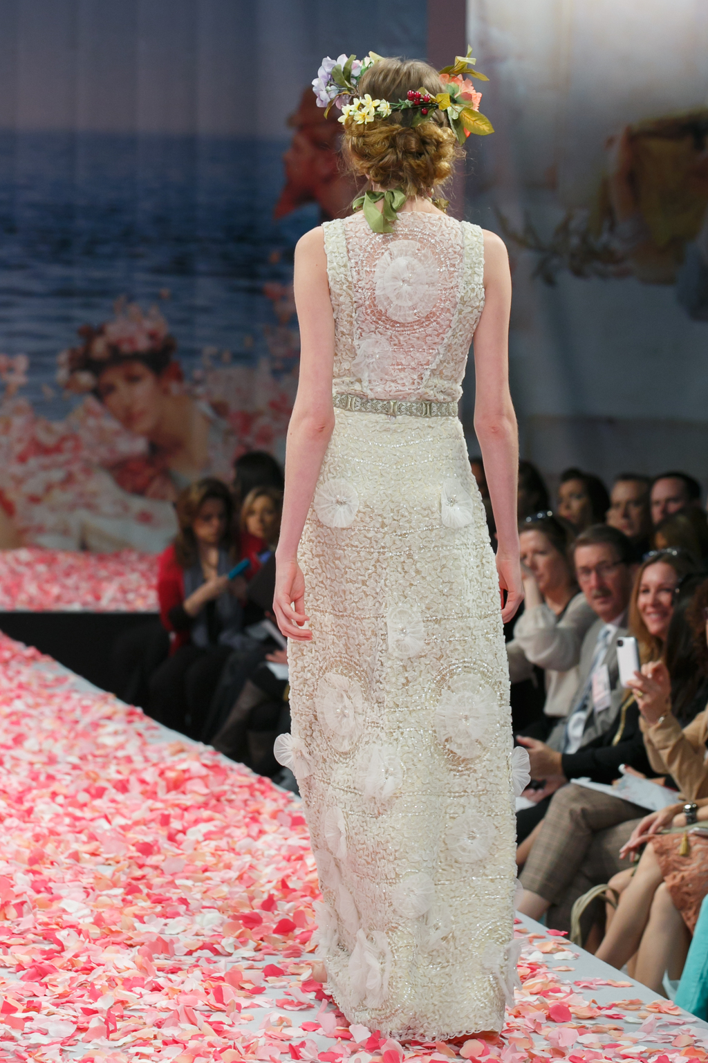 2013 wedding dress by Claire Pettibone An Earthly Paradise bridal collection Eternity