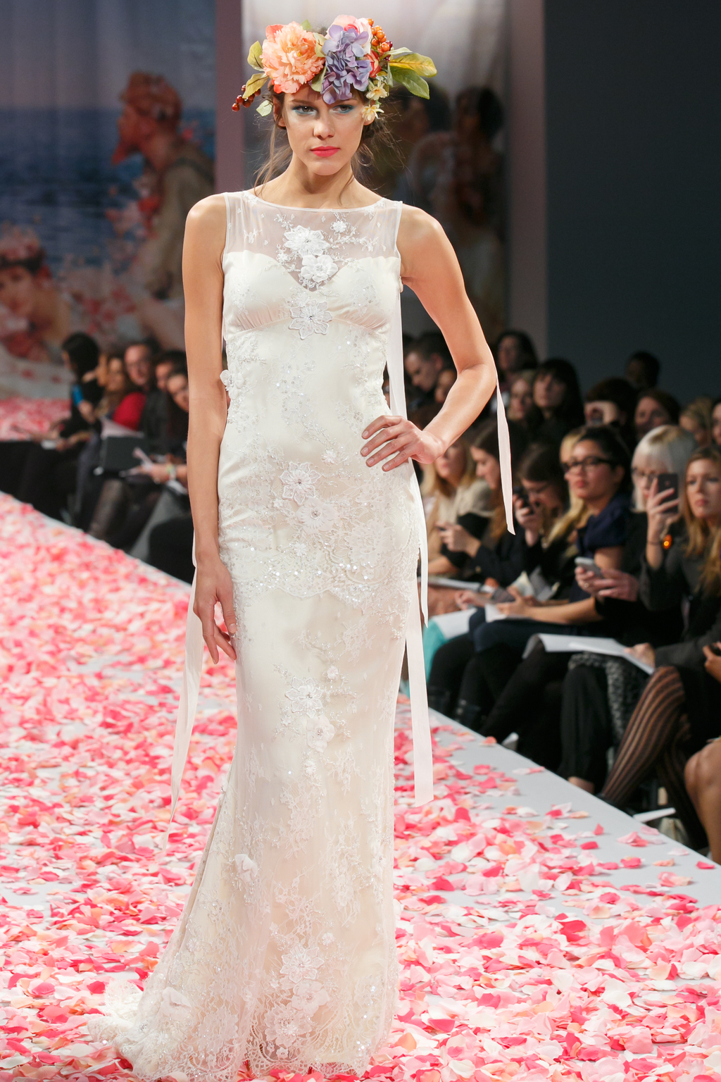 2013 wedding dress by Claire Pettibone An Earthly Paradise bridal collection Aphrodite