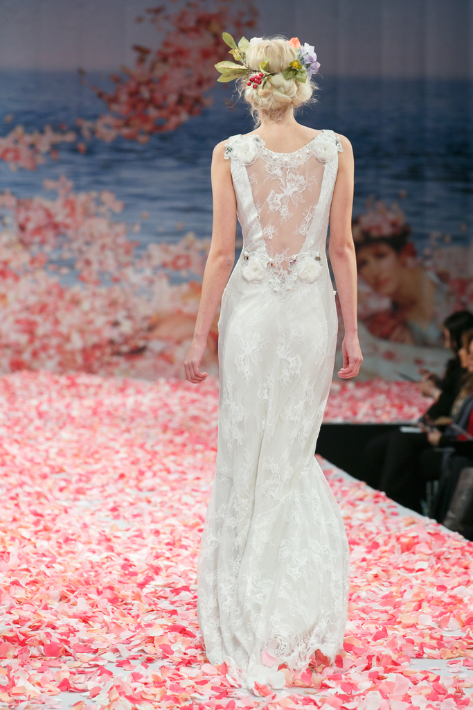 photo of 2013 wedding dress by Claire Pettibone An Earthly Paradise bridal collection Laurence