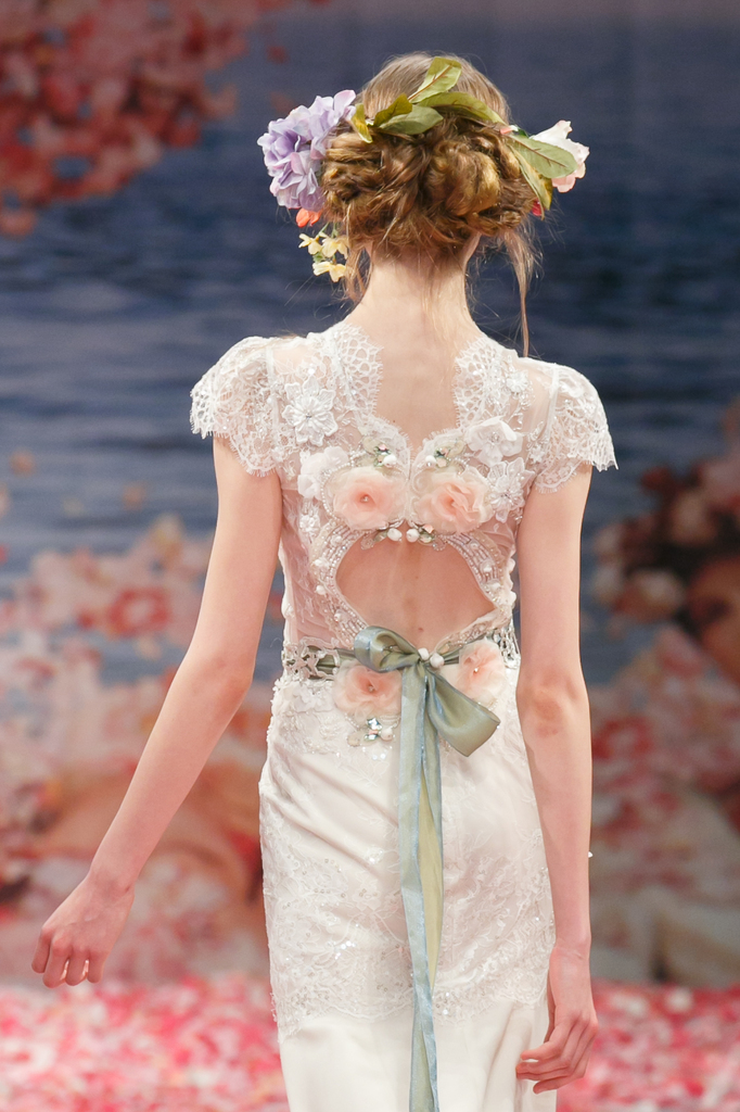 photo of Claire Pettibone's New Wedding Dress Collection Is Paradise On Earth