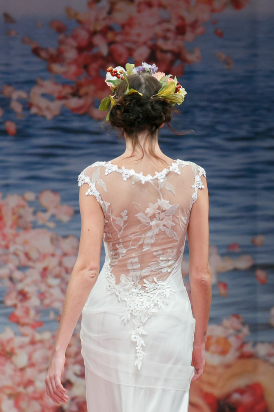 2013 wedding dress by Claire Pettibone An Earthly Paradise bridal collection Adagio