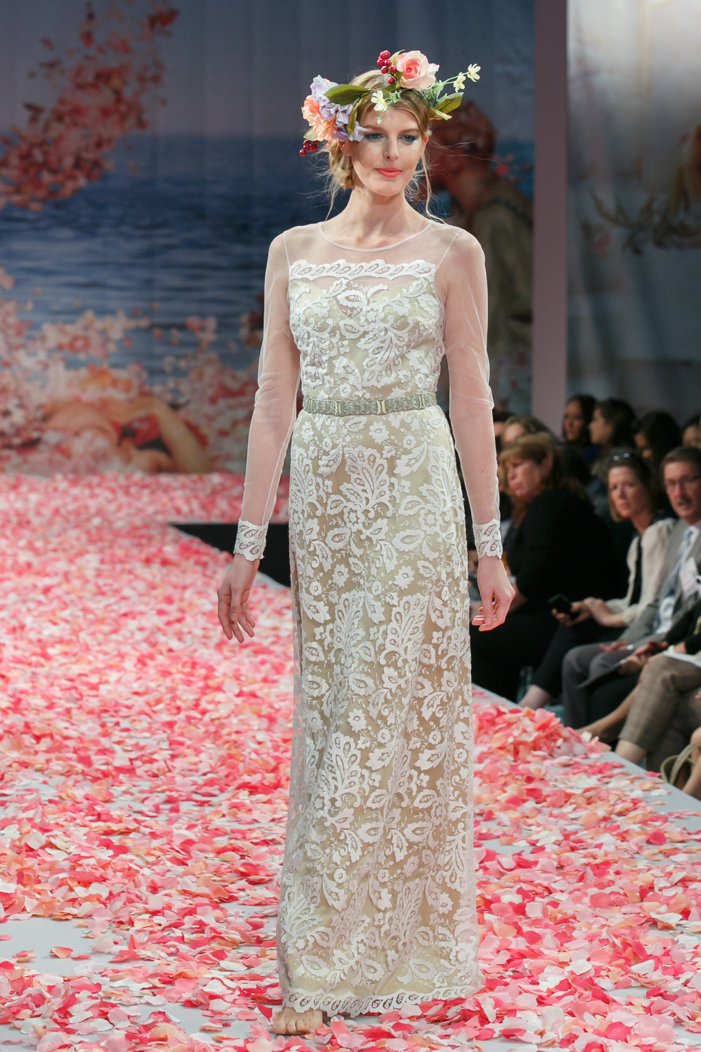 2013 wedding dress by Claire Pettibone An Earthly Paradise bridal collection Helena
