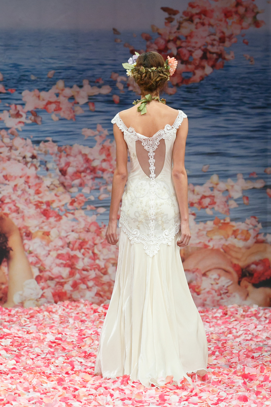 2013 wedding dress by Claire Pettibone An Earthly Paradise bridal collection Thalia