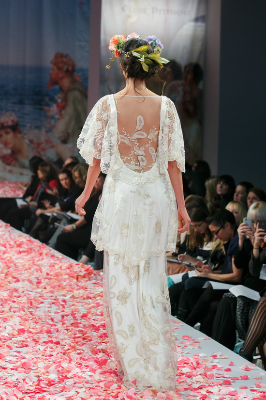 2013 wedding dress by Claire Pettibone An Earthly Paradise bridal collection Poetry