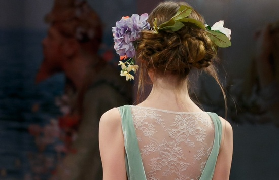 wedding hair inspiration for romantic brides updos at Claire Pettibone 1