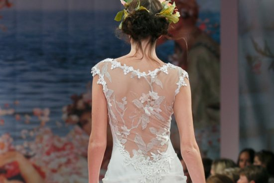 romantic brides runway inspiration Claire Pettibone statement backs 3