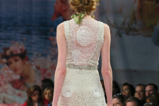 romantic brides runway inspiration Claire Pettibone statement backs2