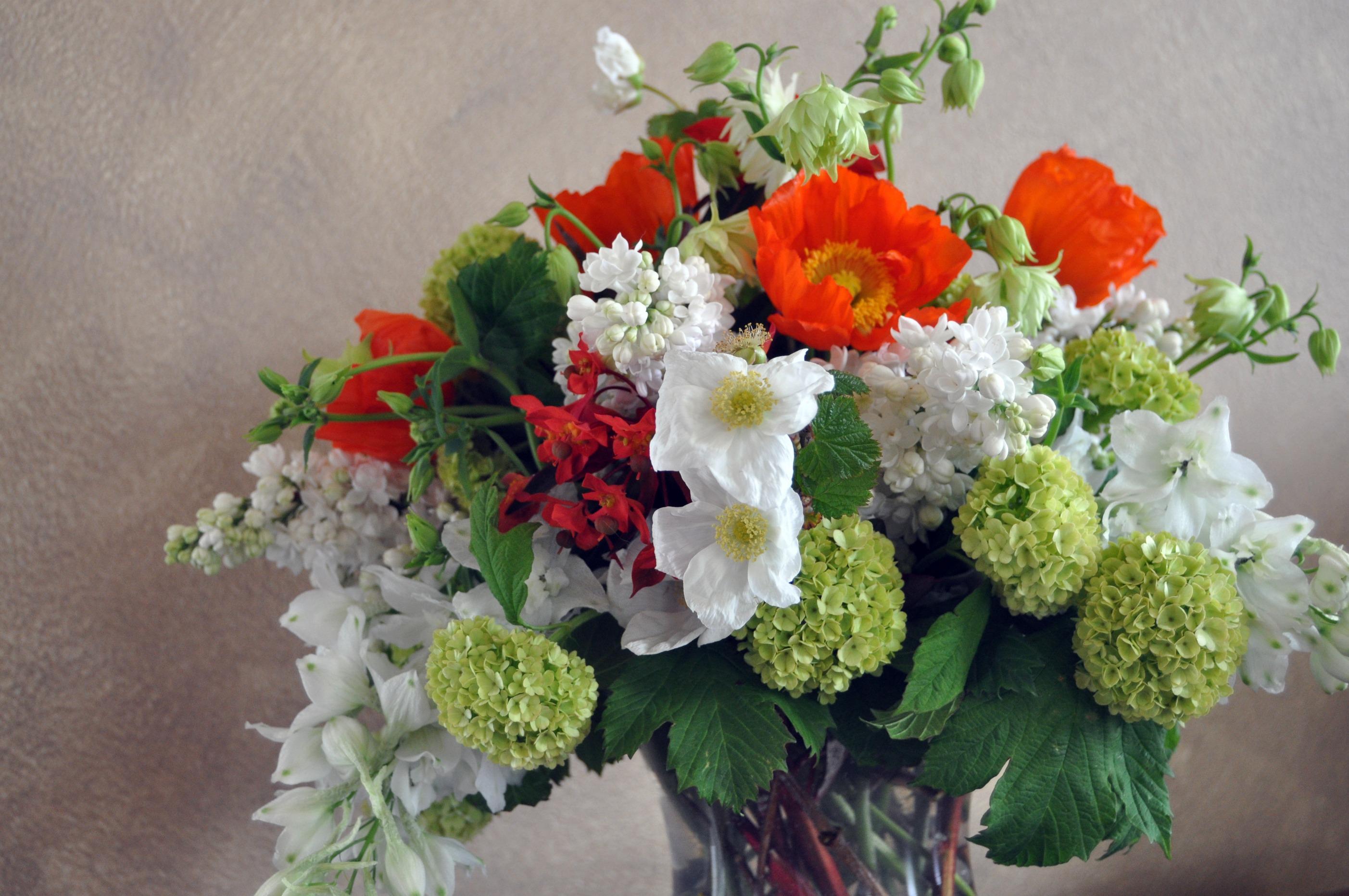 romantic wedding flowers poppy bridal bouquet reception centerpiece 1. Black Bedroom Furniture Sets. Home Design Ideas