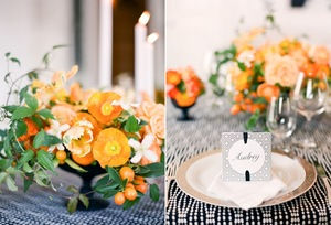 photo of Pretty Poppy Wedding Bouquets & Centerpieces