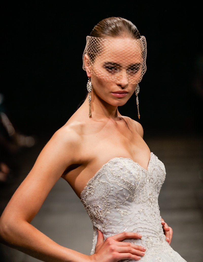 Spring 2013 wedding dress Lazaro bridal gowns 3320 detail