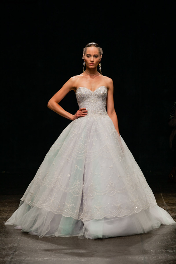 photo of Fall In Love with Spring '13 Lazaro Bridal Gowns