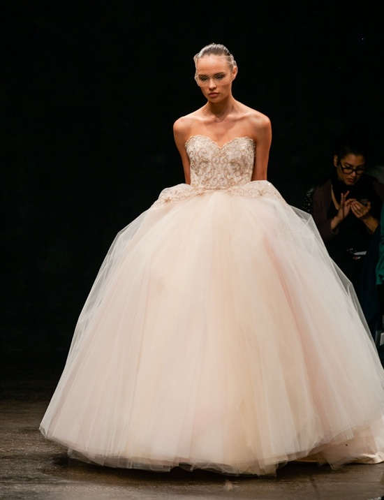 Spring 2013 wedding dress Lazaro bridal gowns finale 3300