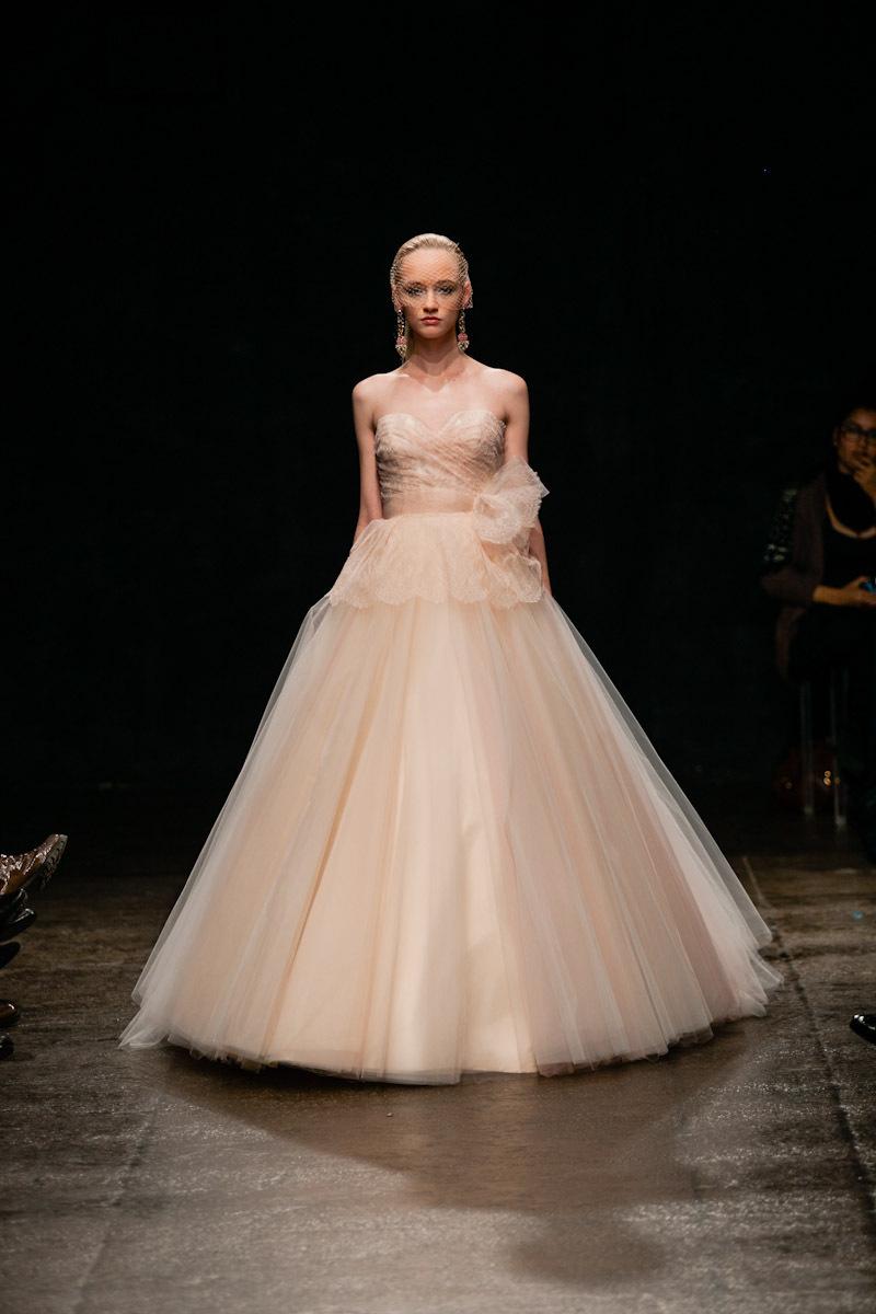 Spring 2013 wedding dress Lazaro bridal gowns finale 3300