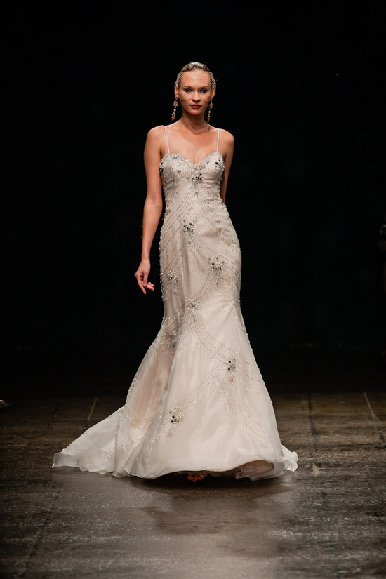 Spring 2013 wedding dress Lazaro bridal gowns 3304