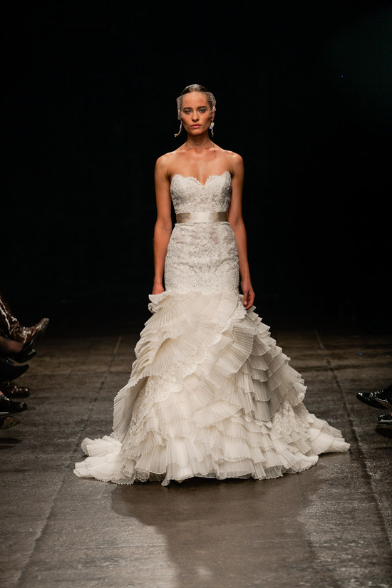 Spring 2013 wedding dress Lazaro bridal gowns 3308