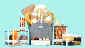 photo of Give Wedding Thanks with Uncommonly Cool Gift Baskets from Früute