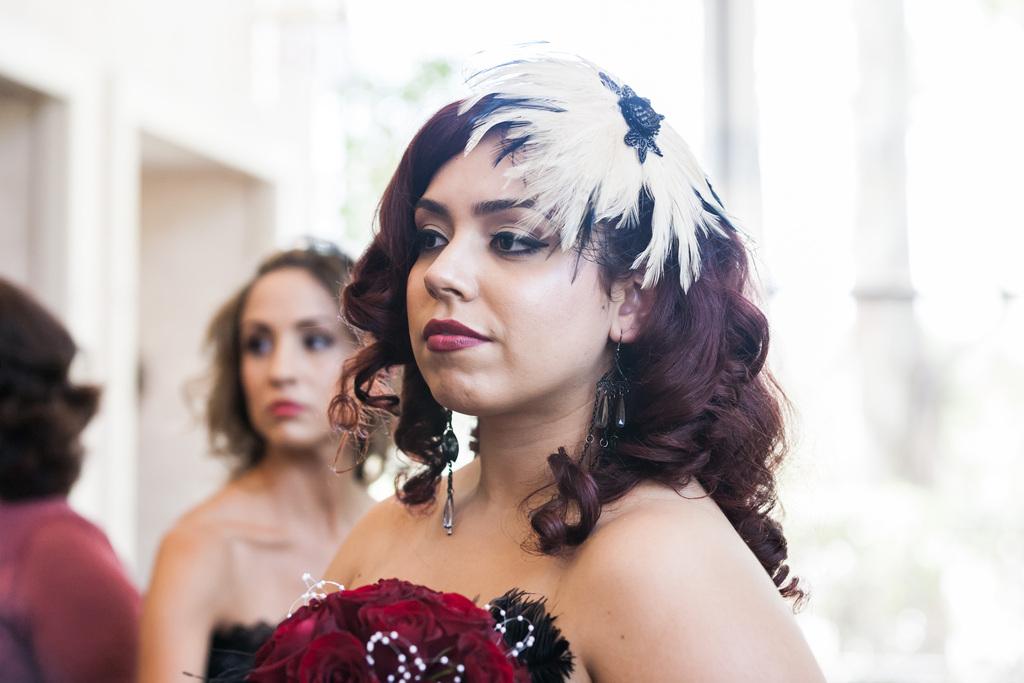 Epic-wedding-in-los-angeles-california-weddings-retro-bridesmaid.full