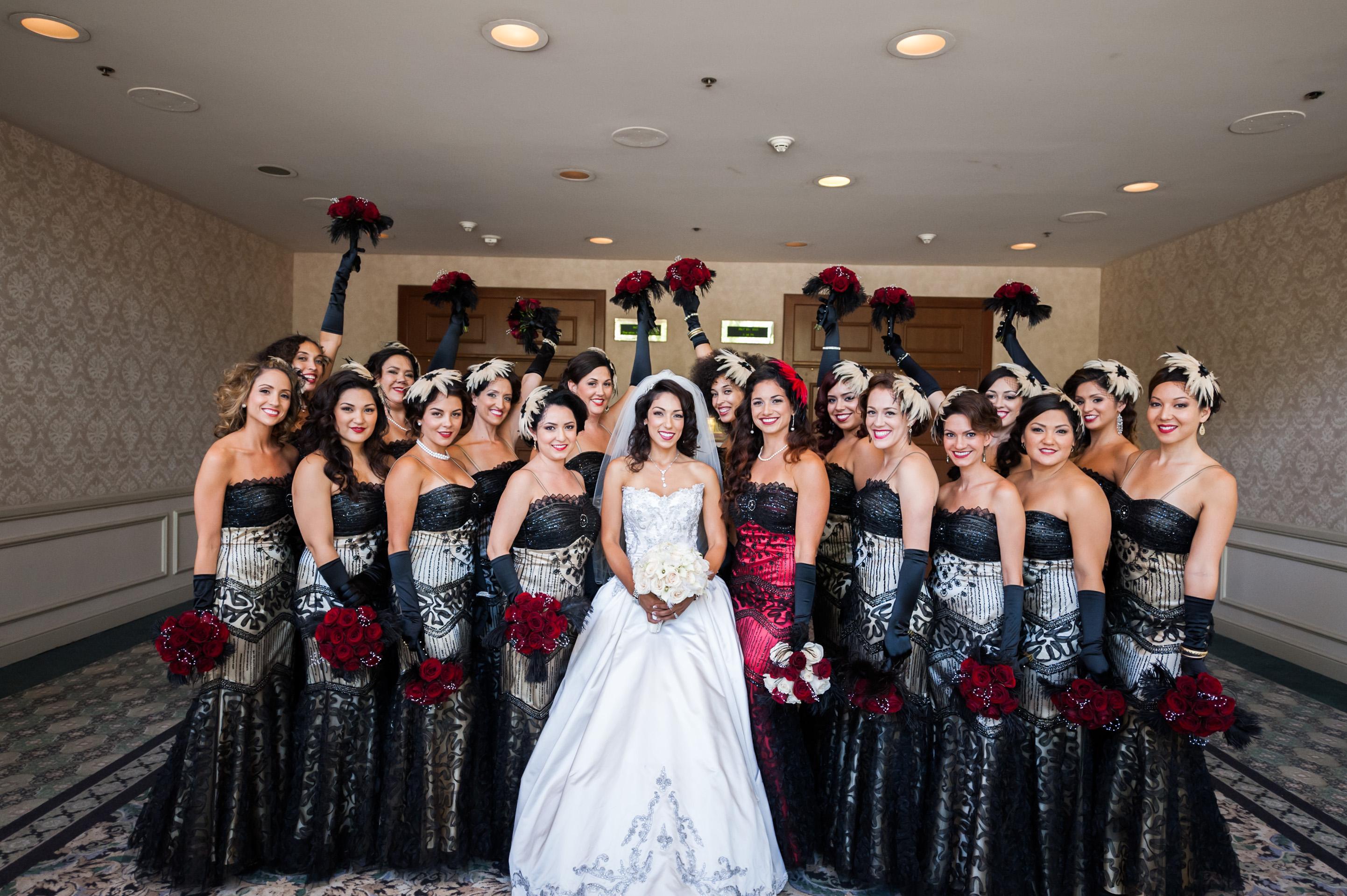 Epic Wedding In Los Angeles California Weddings Retro
