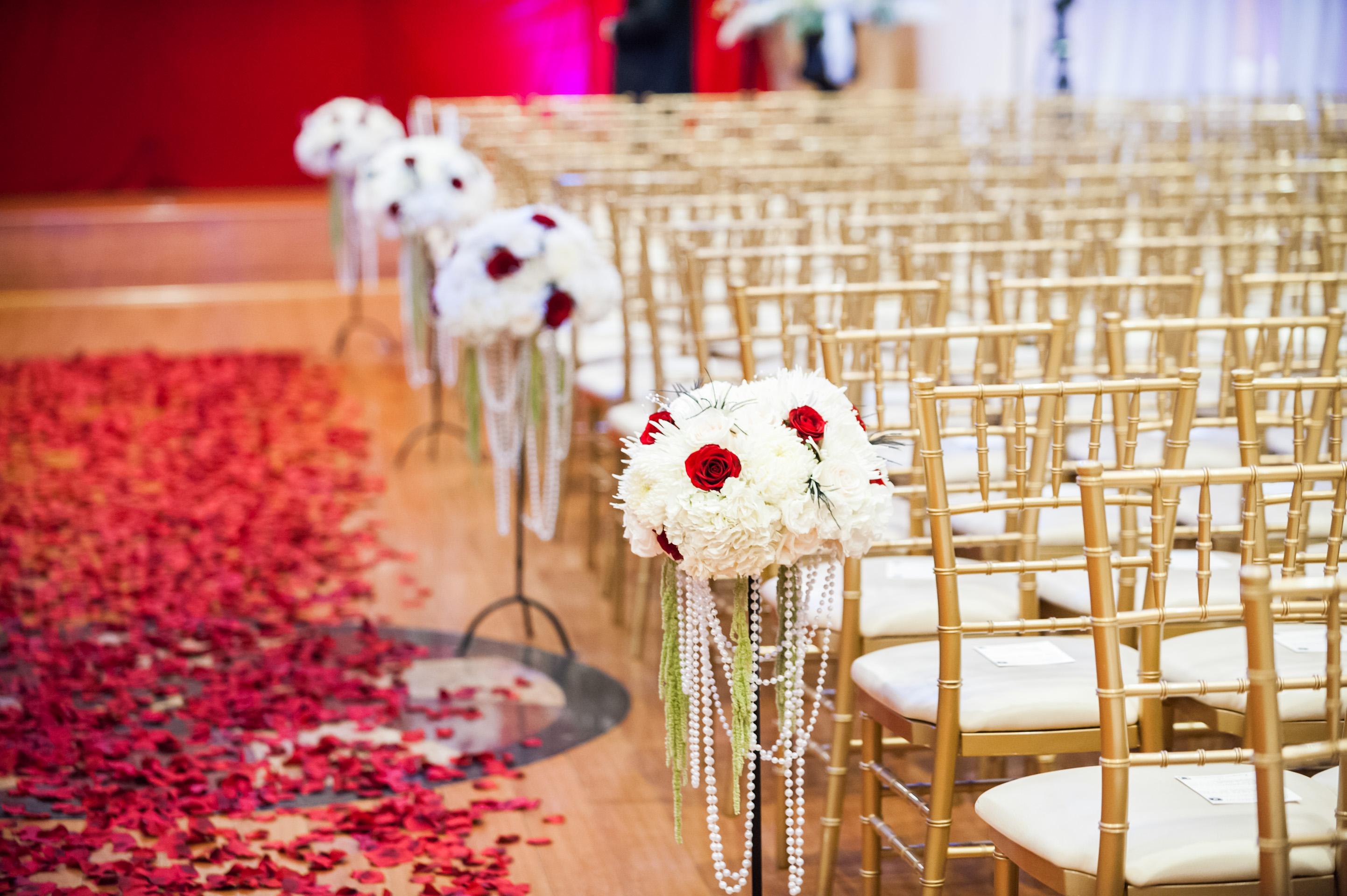 Epic Wedding In Los Angeles California Weddings Retro Glam Ceremony