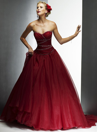 photo of Red Wedding Dresses