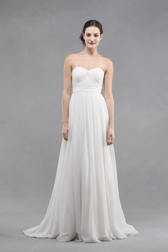 photo of jenny yoo wedding dress colllection spring summer 2013 bridal gowns monarch strapless