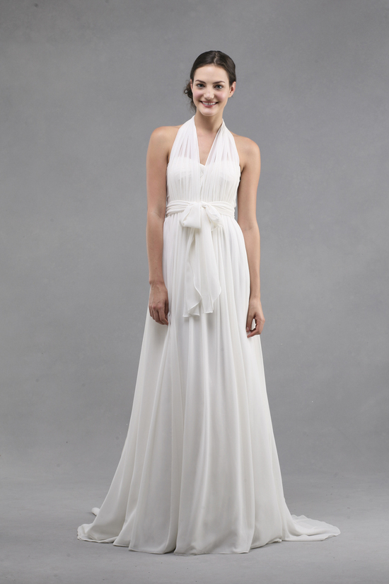 jenny yoo wedding dress colllection spring summer 2013 bridal gowns monarch halter