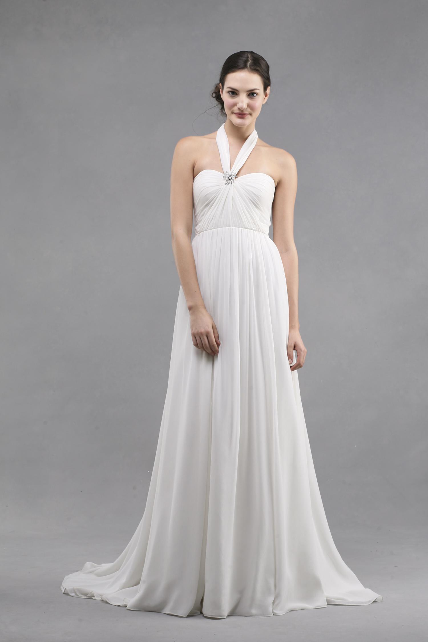 Jenny Yoo Wedding Dress Colllection Spring Summer 2013 Bridal Gowns Monarch Criss Cross Halter