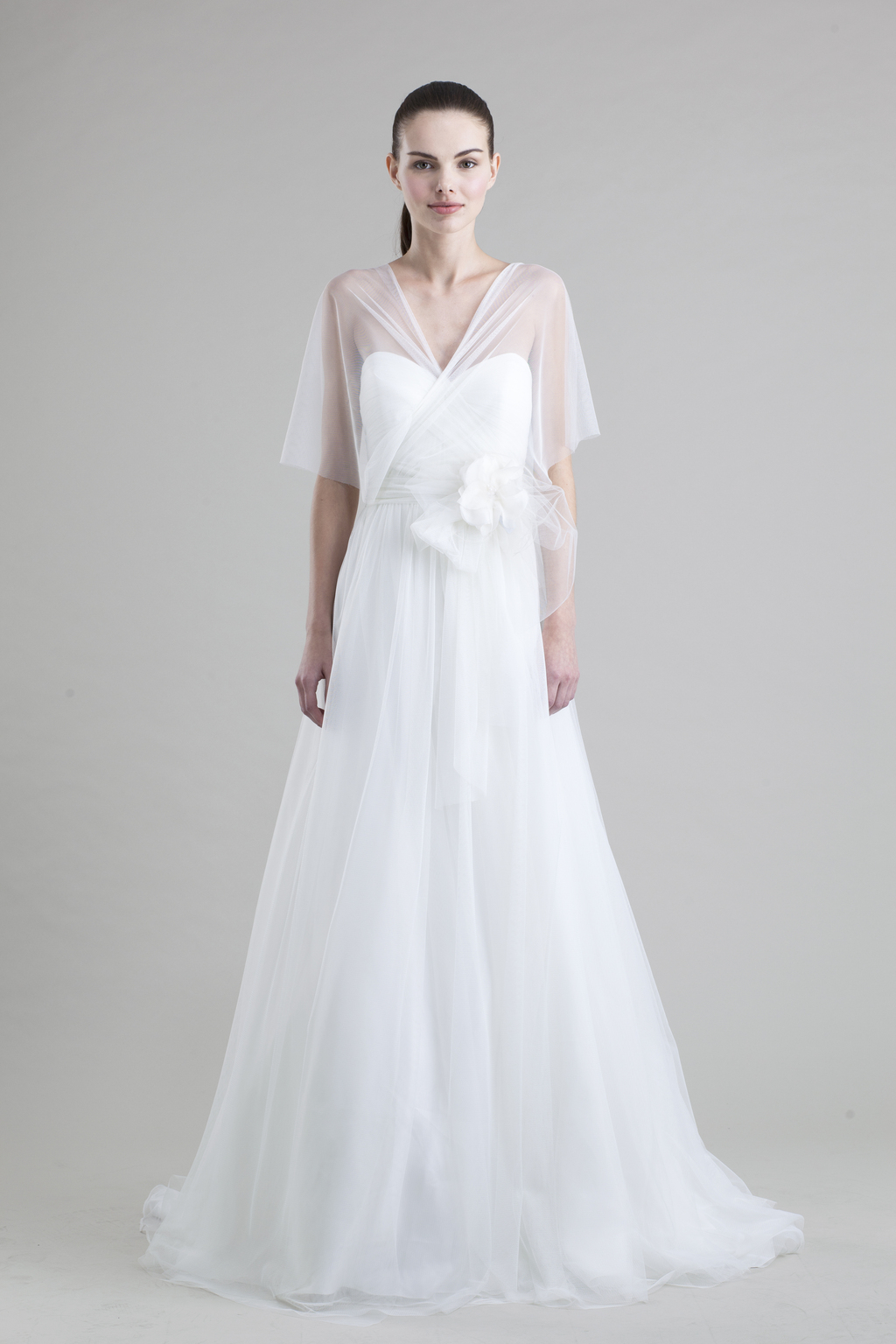 jenny yoo wedding dress colllection spring summer 2013 bridal gowns hathaway tulle
