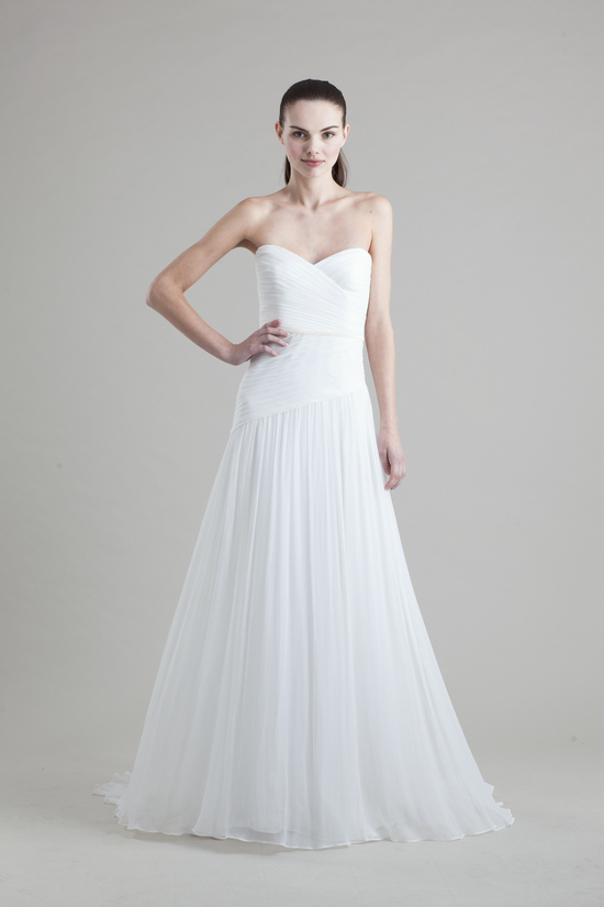 Jenny Yoo Wedding Dress Colllection Spring Summer 2013 Bridal Gowns Monarch Clean One Shoulder