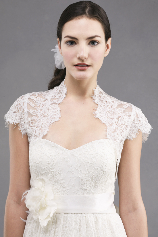jenny yoo wedding dress colllection spring summer 2013 bridal gowns bianca bolero1