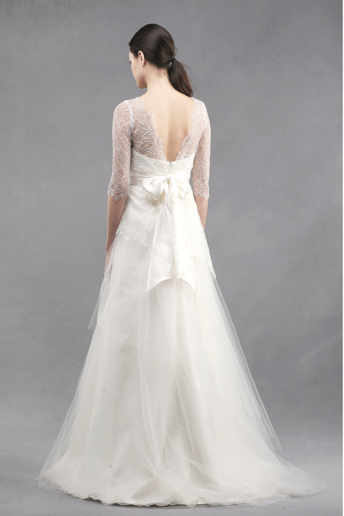 photo of jenny yoo wedding dress colllection spring summer 2013 bridal gowns addison