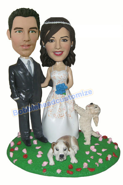 Custom_bobbleheads_wedding_with_pets