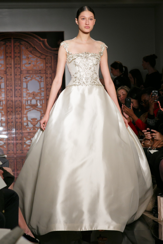 Reem Acra wedding dress Fall 2013 bridal Natasha Magic Moment f
