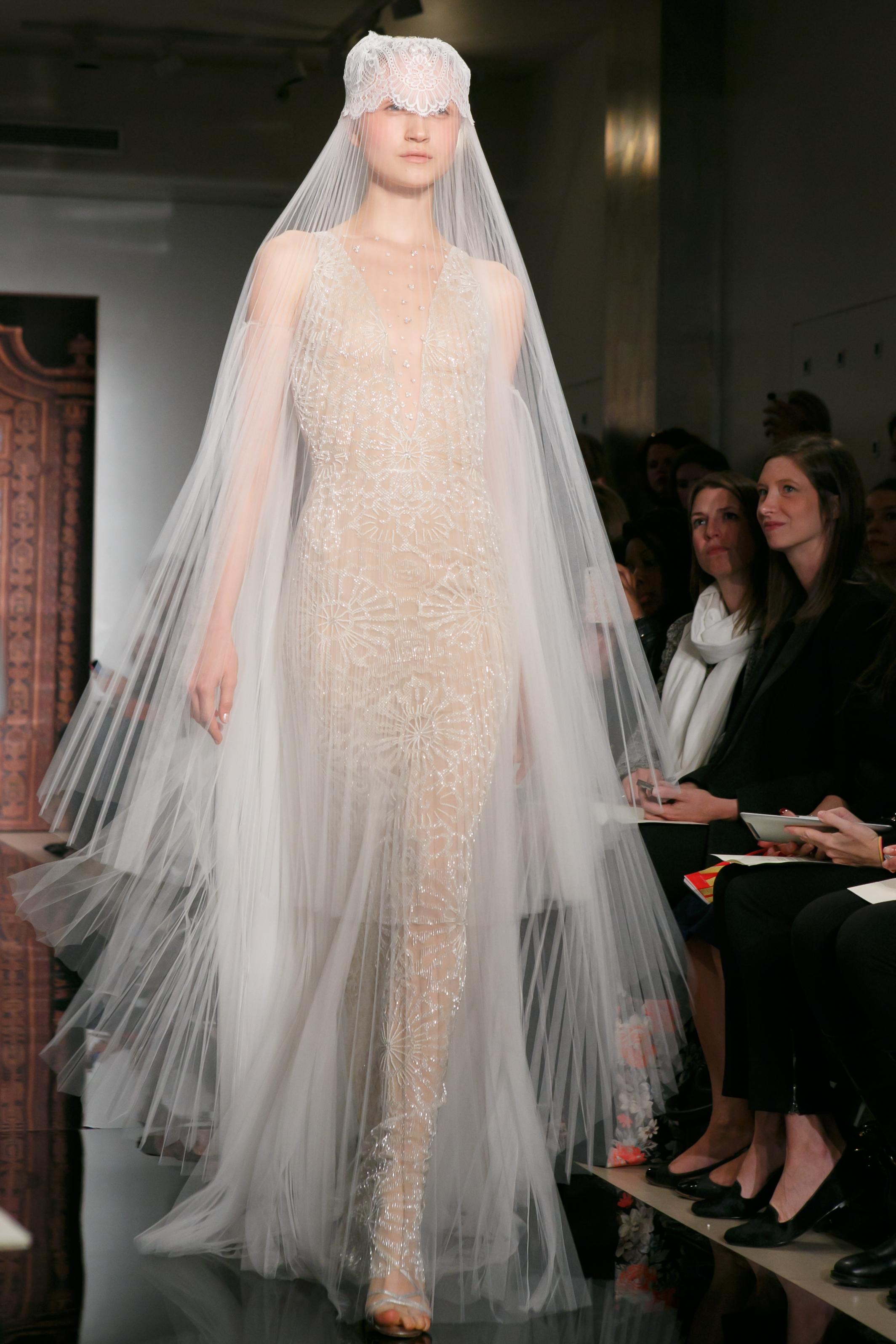 Reem Acra Wedding Dress Fall 2013 Bridal Lexi Dazzling 3