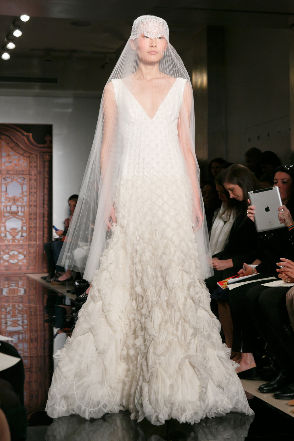 Reem Acra wedding dress Fall 2013 bridal Liao Always For You f