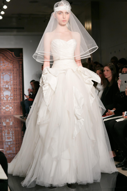 Reem Acra Wedding Dress Fall 2013 Bridal Melise Modern