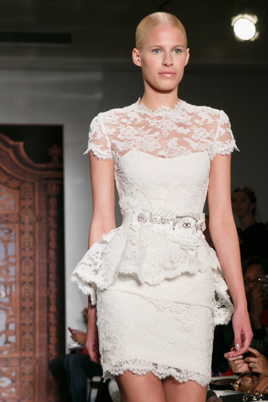 Reem Acra wedding dress Fall 2013 bridal Jen A Touch of Lace LWD 3
