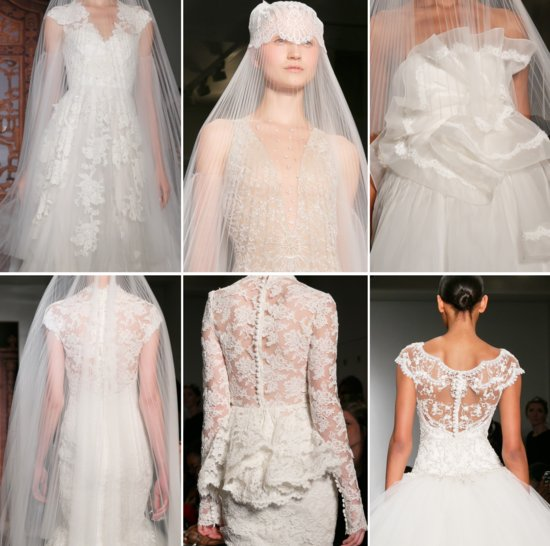 gorgeous wedding dresses from Reem Acra Fall 2013 bridal