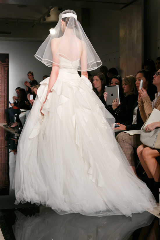 Reem Acra wedding dress Fall 2013 bridal Melise Modern Sensation