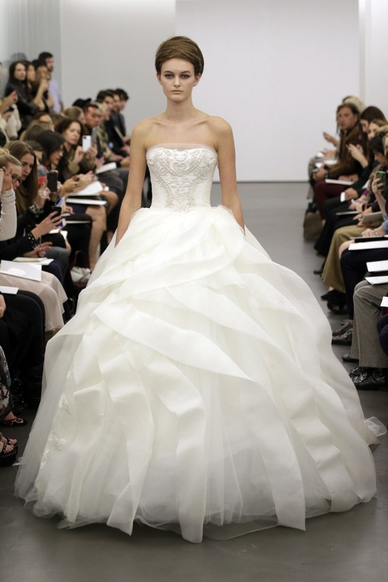 Vera Wang wedding dress Fall 2013 bridal 1