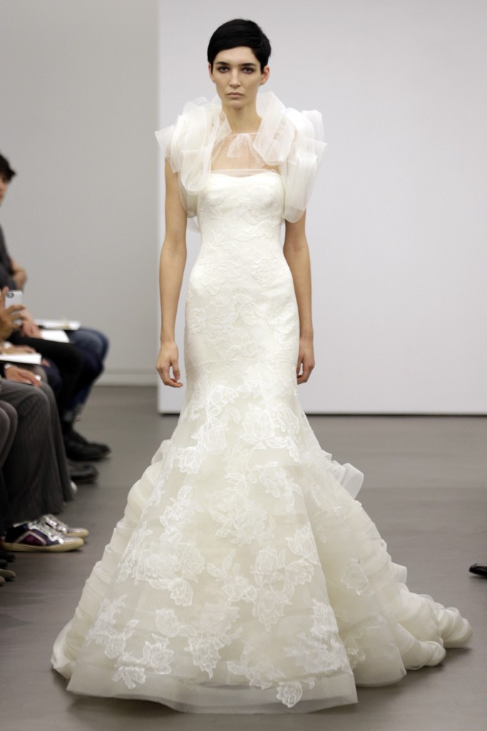Vera Wang wedding dress Fall 2013 bridal 3